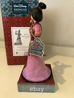 Mulan and Mushu Figurine Jim Shore Disney Traditions Princess Enesco 4037510