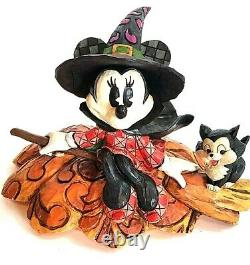 NEW Enesco Jim Shore Disney Traditions Minnie Mouse A SPELLBINDING HALLOWEEN