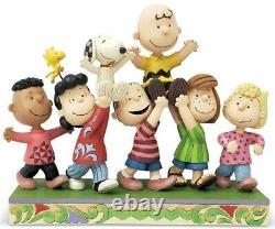 Peanuts Gang Jim Shore Enesco A Grand Celebration 7.5