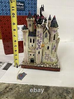 RARE Disney Jim shore Halloween Villains Tower Of Fright Maleficient Ursula MIB
