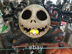 RARE Disney Traditions illuminating Fright On Halloween Night Jack Skellington