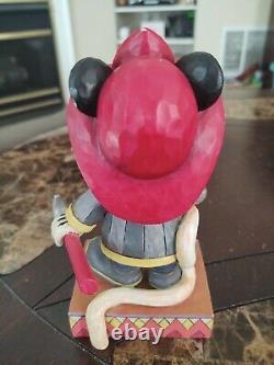 RARE Jim Shore Disney Enesco MICKEY TO THE RESCUE Firefighter. Read description