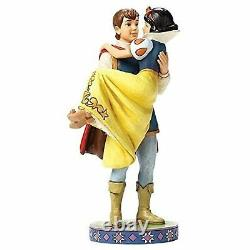 RARE Jim Shore Disney Traditions Snow White & The Prince Figurine 9.5 4049623