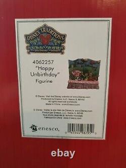 Alice Au Pays Des Merveilles Happy Unbirthday Disney Traditions Jim Shore Figurine Statue