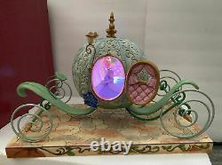 Cinderella Entraîneur De Citrouille Grande Figure 16 Disney Traditions Jim Shore Lighted 2020