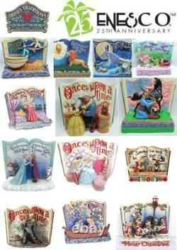 Disney Enesco Jim Shore Traditions Storybook Story Livre Cendrillon Mulan Nbc
