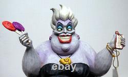 Disney Enesco Traditions Figur Jim Shore 6002837 Délicieuse Avide Arielle Ursula