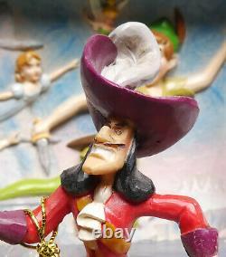 Disney Enesco Traditions Jim Shore Peter Pan Trésor Chest Scene 6008063