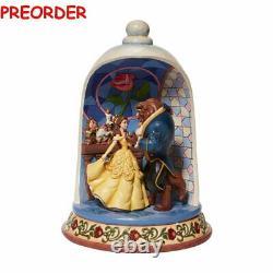 Disney Enesco Traditions Shore 6008995 Beauty And The Beast Glocke Schöne Biest