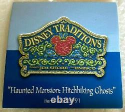 Disney Haunted Mansion Auto-stop Ghosts 40e Anniversaire Jim Shore Led Edition