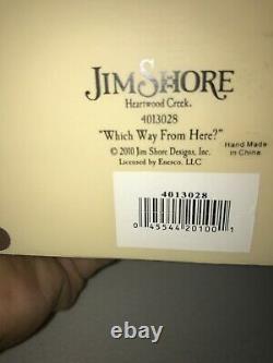 Disney Jim Shore Alice Au Pays Des Merveilles Quel Chemin D'ici Très Rare 2010