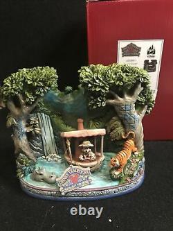 Disney Jim Shore Mickey Jungle Cruise Croisiere Dans La Jungle Figurine Nouveau