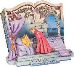 Disney Jim Shore Sleeping Beauty Enchanted Kiss Storybook 4043627 Onf Rare