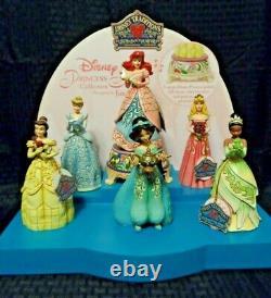 Disney Jim Shore Traditions Princesse Sonate Avec Affichage Ensemble Nib
