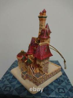 Disney Tradition Beauty And The Beast Castle Jim Shore Enesco Ornement De Noël