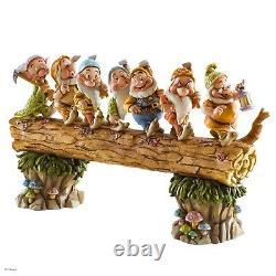 Disney Traditions 4005434 Bound Homeward Sept Nains Figurine