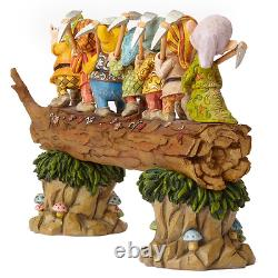 Disney Traditions Blanche Neige Et Les Sept Nains Figurine