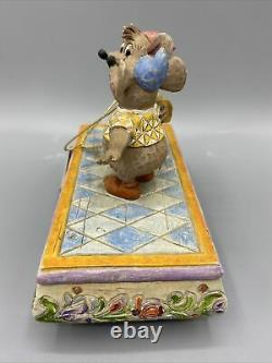 Disney Traditions By Jim Shore 4007661 Jaq And Gus Cinderella Figurine Trinket