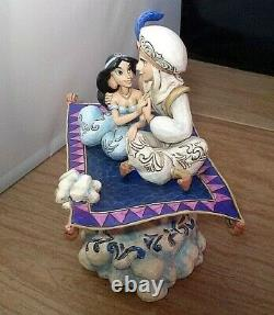 Disney Traditions Jim Shore Aladdin & Jasmine Magic Carpet Ride Lumières Musicales