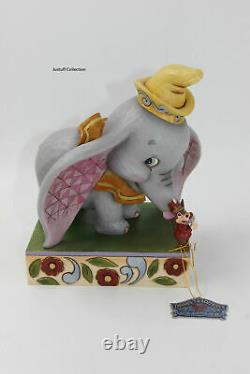 Disney Traditions Jim Shore Dumbo & Timothy Forever Together Rare Figurine