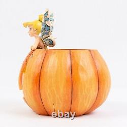 Disney Traditions Jim Shore Enesco A Pixie Teat Tinker Bell Pumpkin Halloween