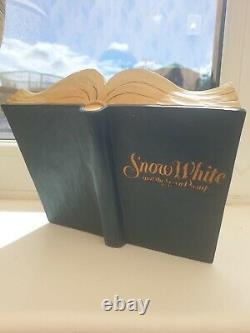 Disney Traditions Jim Shore Enesco Snow White Story Book (lire La Description)