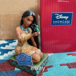 Disney Traditions Jim Shore Free Et Fierce Pocahontas Avec Figurine D'oiseau Rare