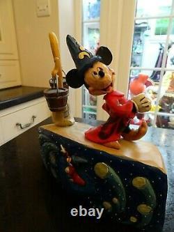 Disney Traditions Mickey Fantasia Invoquer Les Étoiles 75 Ans Anniversaire