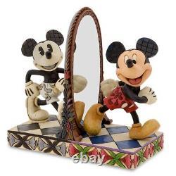 Disney Traditions Mickey Mouse 80 Ans De Rire 4011748 Jim Shore Flambant Neuf