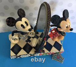 Disney Traditions Mickey Mouse 80 Ans De Rire Jim Shore Figure Statue
