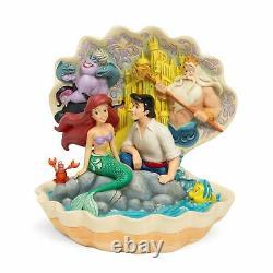 Disney Traditions Par Jim Shore Little Mermaid Shell Scène