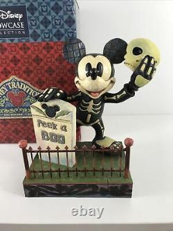 Disney Traditions Peek-a-boo Mickey Jim Shore Halloween Glow In The Dark 4011043