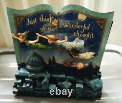 Disney Traditions Peter Pan Storybook Figurine Off To Neverland 4049643 Showcase