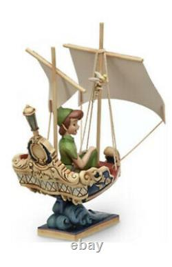 Disney Traditions Peter Pan Vol Disneyland Paris Enesco Jim Shore 4032116 Nouveau
