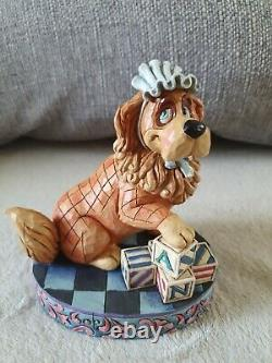 Disney Traditions Peter Pan'nurturing Nana' Figurine, Rare, Sans Boîte