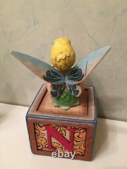 Disney Traditions Showcase Collection Peter Pan Jim Shore Enesco Tinkerbell