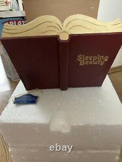 Disney Traditions Sleeping Beauty Storybook, Jim Shore, Showcase, Enesco, Figurine