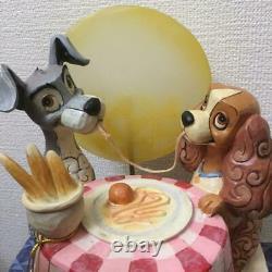 Enesco Disney Tradition Lady And The Tramp A Moonlit Romance Figurine Unuse Rare