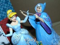 Enesco Disney Traditions 4037503 Magical Transformation In Original Box