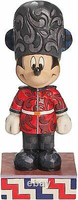 Enesco Disney Traditions By Jim Shore Mickey In England Figurine 4043630 Nouveau