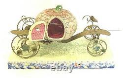 Enesco, Disney Traditions, Cendrillon Avec Pumpkin Carriage & Horse Par Jim Shore