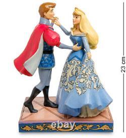 Enesco Disney Traditions Jim Shore 405973 Figurine Aurora Et Prince (dance)