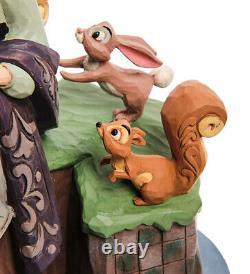 Enesco Disney Traditions Jim Shore 6005959 Figurine Dormir Beauté Avec Les Animaux