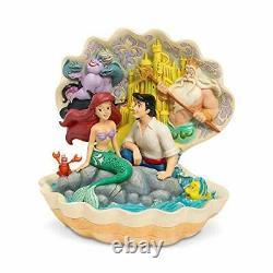 Enesco Disney Traditions Par Jim Shore Ariel Little Mermaid Shell Scene Figurine