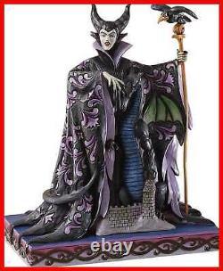 Enesco Disney Traditions Par Jim Shore Figurine Du Dragon Maléfique W
