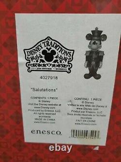 Enesco Disney Traditions Par Jim Shore Mickey Mouse Nutcracker Figurine. Rare