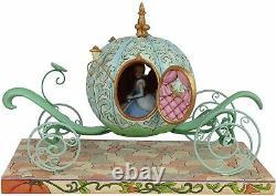 Enesco Disney Traditions Par Jim Shore Pumpkin Coach Avec Cendrillon Figurine