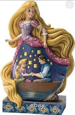 Enesco Disney Traditions Par Jim Shore Rapunzel Figurine Amour Éclairé