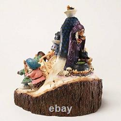 Enesco Disney Traditions Par Jim Shore Wood Carved Snow White Figurine