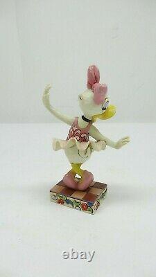 Enesco Jim Shore Disney Showcase 4016563 Daisy Duck Comme La Fée De La Prune De Sucre